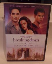 The Twilight Saga: Breaking Dawn - Part 1 (DVD, 2013, Extended; NO DIGITAL COD..