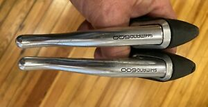 VTG Shimano 600EX Brake Lever Set BL-6209 Aero Cable Routing w/Cable Stops
