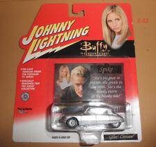 BUFFY the VAMPIRE SLAYER johnny lightning DIECAST car GILES CITROEN silver Spike