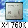 AMD X4-760k Quad-Core FM2 3.8GHz 4MB 100W CPU processor