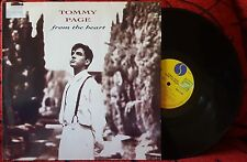 TOMMY PAGE **From The Heart** ORIGINAL 1991 Germany LP