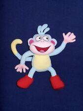 Gund Dora the Explorer Boots Monkey Blue Yellow Red Toy 2001 Plush