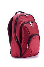 Ellehammer Deluxe Backpack Laptop Bag in Red Copenhagen Luggage Collection