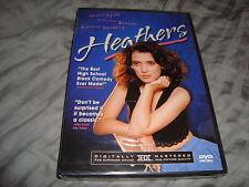 Heathers New Sealed DVD Winona Ryder Christian Slater Shannen Doherty NEW