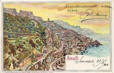 AMALFI.......................viagg. 1904
