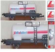 LIMA 781 VINTAGE CARRO FS ITALIANE CISTERNA TRASPORTO OLI MOBIL-OIL BOX SCALA-N