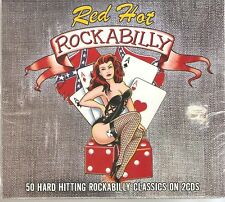 RED HOT ROCKABILLY 2 CD BOXSET 50 GREAT CLASSICS