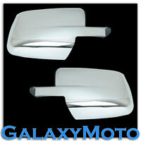 Chrome plated Full ABS Mirror Cover a pair for 09-18 Dodge Ram 1500+2500+3500