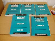 2001 Dodge Dakota pickup truck service shop dealer repair manual