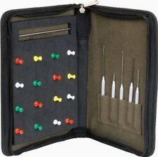 King Carp Fishing Hard Rig Case for hair Rigs Etc with Tools and Pins