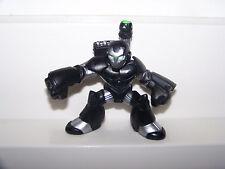 MARVEL COMICS WAR MACHINE 2009 HASBRO SUPER HERO SQUAD GREEN EYES LASERS FIGURE