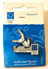 2004 GREECE OFFICIAL OLYMPIC GAMES PIN : JUDO