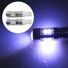 NEW 2 X T10 50W W5W Cree LED Super Bright White Car DRL Signal Light Bulb 8000k