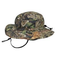 Mossy Oak Break Up Country Boonie Hat Waterproof Chin Strap Outdoor Cap New OSFM