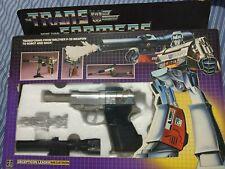RARE 1984 Box 1983 Toy Transformers G1 Gen 1 Pre-Rub MEGATRON TAKE A LOOK!!!!