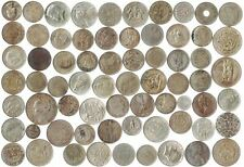 MIXED SILVER COINS OF 1 OUNCE (1 oz), 31.1 GRAMS. 2 - 4 OLD COLLECTIBLE CURRENCY