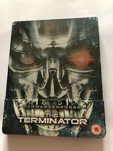 The Terminator (Blu-ray, Region B) Steelbook Zavvi UK BRAND NEW SEALED
