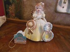 Vintage Applause Josef Originals Birthday Girl Angel Age 8 Figurine Figure Wow!