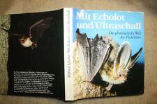 Fachbuch Fledermäuse, Flughunde, Chiroptera, Fledermaus, Fledertiere, Echolot