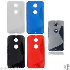 Custodia WAVE Cover Case S Line per Motorola Nexus 6 XT1100 XT1103 Gomma Gel TPU