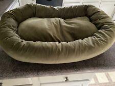 New listing Majestic Pet suede dog bed sage size medium