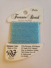 Rainbow Gallery Thread Petite Treasure Braid PB204 new cross stitch embroidery