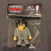 Jim Ross Micro Brawler Pro Wrestling Crate NJPW AEW The Elite WWE WWF