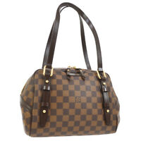 LOUIS VUITTON RIVINGTON PM SHOULDER BAG DAMIER EBENE N41157 AK31736c
