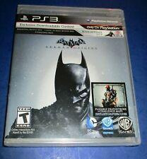 Batman: Arkham Origins PS3 w/ DLC (Disc Loose) *New *Free Shipping!!
