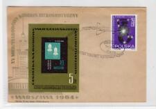 POLAND: 1964 International Space Congress cover (C32400)