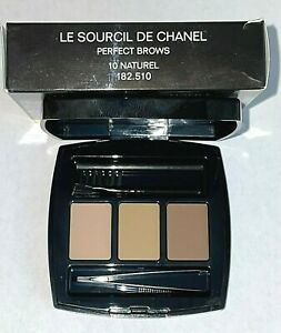 Chanel Perfect Brows Kit - 10 Naturel (compact with magnifying mirror) Boxed