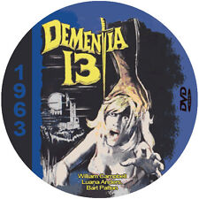 "Dementia 13 (1963) Classic Thriller and Horror NR CULT ""B"" Movie DVD"