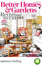 Better Homes & Gardens Magazine Back Issue Revive and Refresh DIY July 2017 VG!