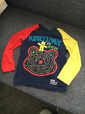 Pudsey Children In Need Maze Long Sleeve Top Age 4-5yrs