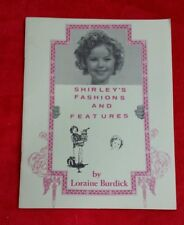 RARE 1978 Book Shirley's Fashions and Features Loraine Burdick SHIRLEY TEMPLE #6