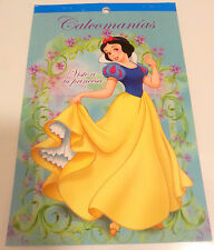 Snow White Party Supplies Decoration Sticker 3 Book Decals Princess Favor Treats