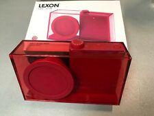 Rarität LEXON LA94 Flow FM RADIO  Farbe rot transparent Design von Philip Wong