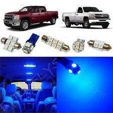 12x Blue LED interior package for 2007-2013 Chevy Silverado & GMC Sierra CS3B