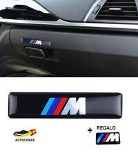 3D Logo BMW M Sticker Pegatina Adhesivo 60 x 14 mm  Llantas Volante + Regalo