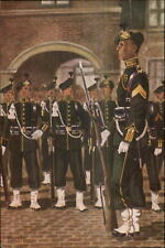 Dutch Netherlands Military Uniforms Garderegiment Grenadiers 1949 Postcard #7