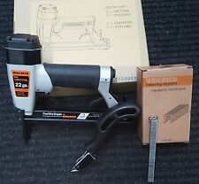 Long Nose Upholstery Stapler Kit - Includes Air Tool, Staples and Staple Remover