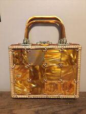 Style craft Miami vintage 1950's 1960's wicker purse