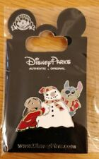 Disney trade pin Stitch and Lilo build a snowman  (I COMBINE THE P&P)