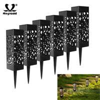 Outdoor Solar Powered LED Path Landscape Light Garden Waterproof Yard Lawn Lamp