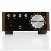 HiFi Bluetooth Audio Amplifier Receiver Stereo Power Amp Remote USB Music Player