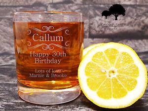 Personalised Engraved whiskey Glass Groom, Best man wedding gift WTA2