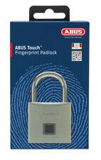ABUS TOUCH 5650C Fingerprint Operated Padlock-Biometric -FREE POST