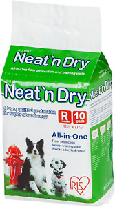 "Best USA Neat 'n Dry Premium For Pet Training Pads Regular 10Pcs 17.5""x23.5"" NW"