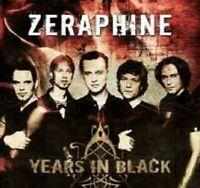 "ZERAPHINE ""BEST OF-YEARS IN BLACK"" CD GOTHIC ROCK NEW"