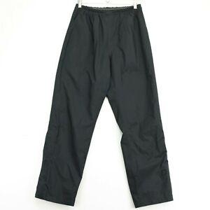 FootJoy DryJoy Mens Rain Pants Size Small Black Stretch Waist Golf